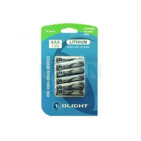 OLIGHT - Olight Lithium AAA 1100mAh 1.5V - Size AAA - NK430-CB