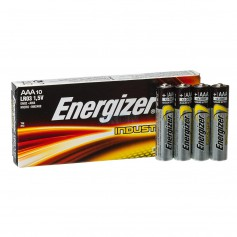 Energizer - Energizer Industrial LR03 AAA alkaline battery - 10 Pieces - Size AAA - NK431-CB