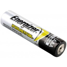Energizer, Energizer Industrial LR03 AAA alkaline battery - 10 Pieces, Size AAA, NK431-CB