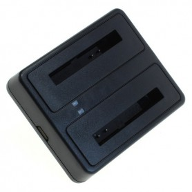 digibuddy - Dual USB charger compatible with Samsung BG900BBE - Ac charger - ON6278 www.NedRo.us