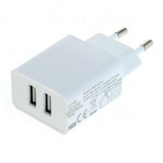 2-Portos USB 2.4A 100-240V Multi adapter EU Plug