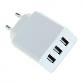 OTB - 3-Portos USB 3.1A Multi adapter Auto-ID - EU Plug - Ac charger - ON6280 www.NedRo.us