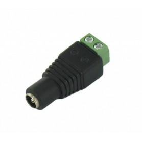NedRo - DC Out Female Socket to Wire Connector - LED connectors - AL488-CB www.NedRo.us