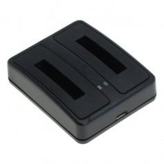 OTB - Double USB Charger for NP-50 KLIC-7004 D-Li68 D-Li122 - Fujifilm photo-video chargers - ON6286