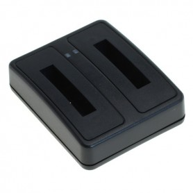OTB - Double USB Charger for NP-50 KLIC-7004 D-Li68 D-Li122 - Fujifilm photo-video chargers - ON6286 www.NedRo.us