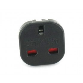 Unbranded, UK to EU Travel Plug, Plugs and Adapters, AC19-CB, EtronixCenter.com
