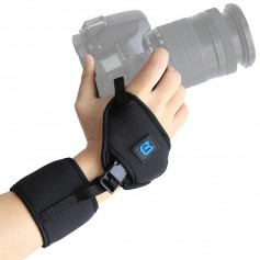 DSLR Action Camera hand strap hand grip with screw