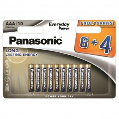 Panasonic - Panasonic Alkaline Everyday Power LR03/AAA - Size AAA - BS360-CB