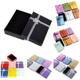 NedRo, 12 pieces gift jewelry luxury packaging boxes 9.5x6.5x2.8cm, Display and Packaging, TB008-CB