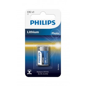 PHILIPS - Philips CR2 Lithium Photo 3V 900mAh - Other formats - BS363-CB
