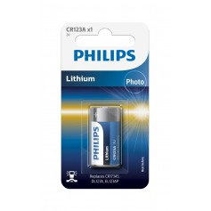 PHILIPS - Philips CR123 Lithium Photo 3V 1500mAh - Other formats - BS364-CB