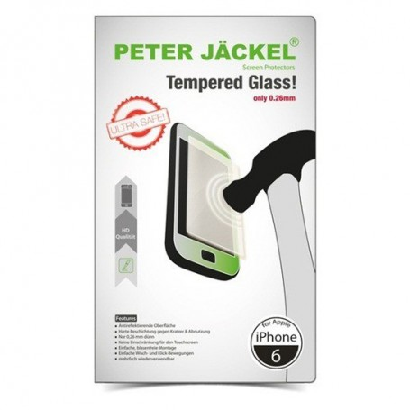 Peter Jäckel - Peter Jackel HD Tempered Glass for Apple iPhone 6 / 6S - iPhone tempered glass - ON1887