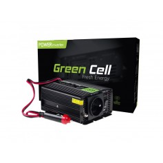Green Cell - 300W DC 12V to AC 230V with USB Current Inverter Converter - Battery inverters - GC005