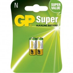 GP Super LR1 / N / E90 / 910A 1.5V Alkaline Battery (Duo Pack)