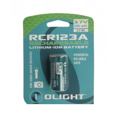 OLIGHT - Olight RCR123A 650mAh 3.7V Rechargeable battery - Other formats - NK372-CB