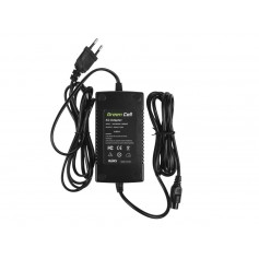 Green Cell - Green Cell 29.4V 2A (Cannon 3-Pin Female) eBike Battery Charger - EU plug - Battery charger accessories - GC018