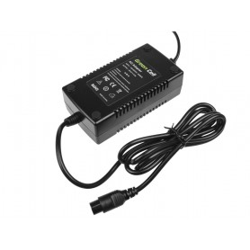 Green Cell, Green Cell 29.4V 2A (Cannon 3-Pin Female) eBike Battery Charger - EU plug, Battery charger accessories, GC018