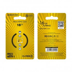 BOROFONE - BOROFONE TF high speed memory card micro-SD SDXC Class 10 - SD and USB Memory - H100774-CB
