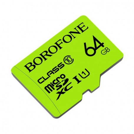 BOROFONE - BOROFONE TF high speed memory card micro-SD SDXC Class 10 - SD and USB Memory - H100774-CB