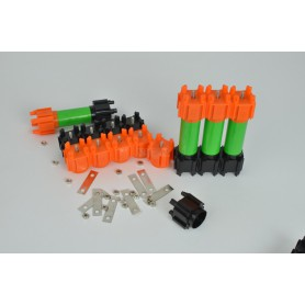 VRUZEND, Vruzend v2.1 DIY battery set for up to 30 18650 batteries, Battery accessories, NK434, EtronixCenter.com