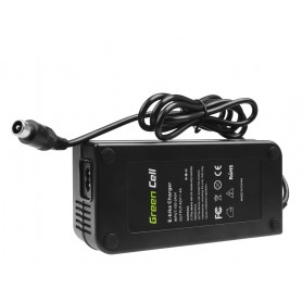 Green Cell - Green Cell 42V 4A (RCA 1-Pin Male) eBike Battery Charger - Battery charger accessories - GC026 www.NedRo.us