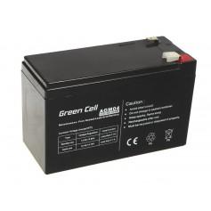 Green Cell - Green Cell 12V 7Ah (6.3mm) 7000mAh VRLA AGM Battery - Battery Lead-acid  - GC038