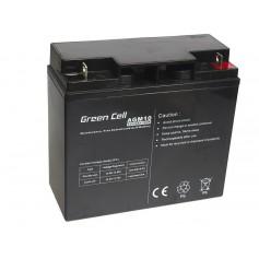 Green Cell - Green Cell 12V 20Ah (11mm) 20000mAh AGM Battery - Battery Lead-acid  - GC040