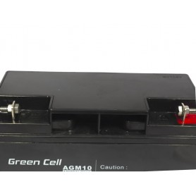 Green Cell - Green Cell 12V 20Ah (11mm) 20000mAh AGM VRLA Battery - Battery Lead-acid  - GC040 www.NedRo.us