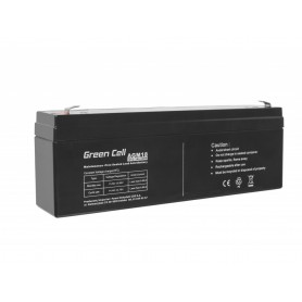Green Cell - Green Cell 12V 2.3Ah (4.6mm) 2300mAh VRLA AGM Battery - Battery Lead-acid  - GC042