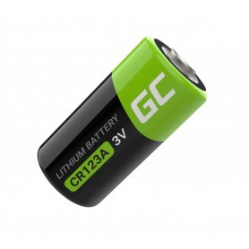 Green Cell - Green Cell CR123A 3V 1400mAh Lithium battery - Other formats - GC044-CB www.NedRo.us