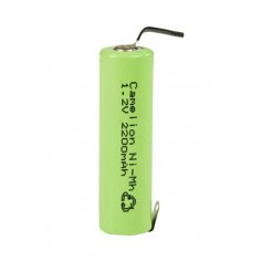 Camelion AA R6 2200mAh with U-solder lips 1.2V NimH Rechargeable