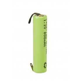 Camelion - Camelion AAA/LR03 800mAh with U-solder lips 1.2V NimH Rechargeable - Size AAA - BS375-CB