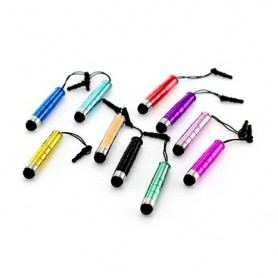 10x Mini Stylus (Set) with Soft Tip-top and 3.5mm plug ON044