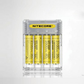 NITECORE, NITECORE Q4 4-Bay 2A Quick Battery Charger for Li-ion IMR, Battery chargers, MF004-CB, EtronixCenter.com
