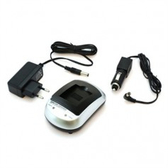 OTB - OTB Home (EU-Plug) and 12V Car charger for Sony NP-FW50 - Sony photo-video chargers - ON3055+49459