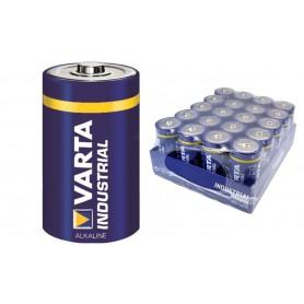 Varta, Varta Industrial D/LR20 Alkaline - 20 Pieces, Size C D 4.5V XL, BS383-CB, EtronixCenter.com