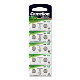 Camelion - Camelion Alkaline AG3 LR41 G3 SR41W 392 1.5V Watch Battery - Button cells - BS387-CB