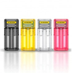 NITECORE Q2 2-Bay 2A Quick Battery Charger for Li-ion IMR