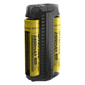 NITECORE - Nitecore F2 Dual Slots 2in1 Power Bank and battery charger - Battery chargers - MF006