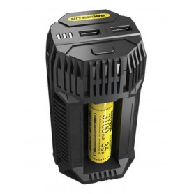 NITECORE, Nitecore V2 3A Li-ion IMR Ni-MH NiCd battery car charger, Battery chargers, MF015
