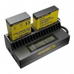 NITECORE - Nitecore UGP4 double USB charger for GoPro HERO3 HERO4 - GoPro photo-video chargers - MF016
