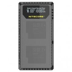 Nitecore UGP5 double USB charger for Hero5 Black