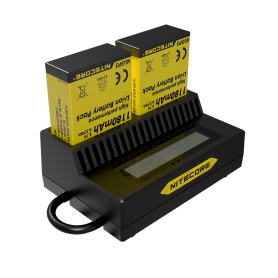 NITECORE - Nitecore UGP3 double USB charger for Hero3 and Hero3 + - GoPro photo-video chargers - MF018 www.NedRo.us