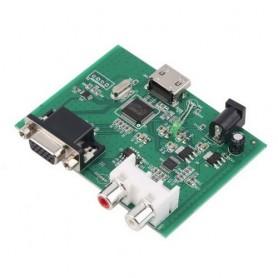 NedRo - VGA to HDMI HD VGA R/L Audio Converter AL085 - VGA adapters - AL085 www.NedRo.us