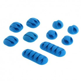 OTB - Adhesive cable holder (cable clips) 10 pieces - Computer gadgets - ON4999-CB www.NedRo.us