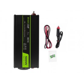 Green Cell - 1000W DC 12V to AC 230V with USB Current Inverter Converter - Pure/Full Sine Wave - Battery inverters - GC037