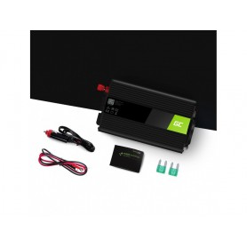 Green Cell - 1000W DC 12V to AC 230V with USB Current Inverter Converter - Solar panels and wind turbines - GC065 www.NedRo.us
