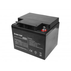 Green Cell 12V 44Ah VRLA AGM Battery with B4 Terminal