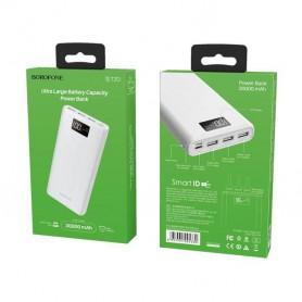 BOROFONE - BOROFONE Fullpower BT2D 30000mAh Power Bank 3x USB Output - Powerbanks - H100985-CB