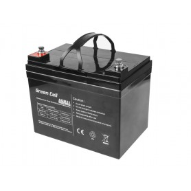 Green Cell, Green Cell 12V 33Ah VRLA AGM Battery with B3 Terminal, Battery Lead-acid , GC057